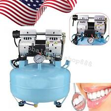 In USA Noiseless Oil Free Oilless Air Compressor 550W 130L/min for Dental Chair