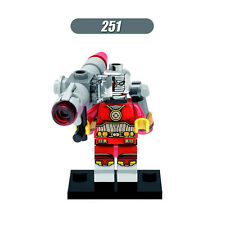 Deadshot with gun Lego fittable minifigure DC superhero set Suicide Squad