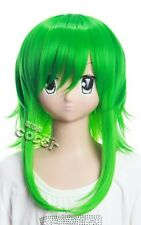 W-93 VOCALOID Megpoid GUMI green green 15 11/16in Cosplay  Wig heat resistant
