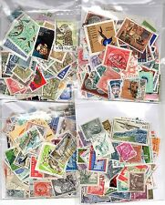 EUROPEAN COLLECTION 100+ STAMPS MINT & USED ALL OFF PAPER ( GENERIC IMAGE )