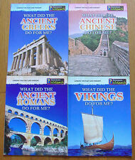 Lot 4 What DId the ANCIENT GREEKS ROMANS VIKINGS CHINESE Do For Me?
