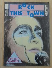 Peter Gabriel - ROCK THIS TOWN n° 11 (11/83)- Gainsbourg Lords of the New Church