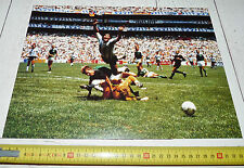 PHOTO FOOTBALL COUPE MONDE 1986 MEXICO 86 FINALE ARGENTINA RFA DIEGO MARADONA
