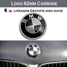 Logo BMW CARBONE 82mm capot coffre M insigne embleme badge série 1 3 4 5 6 x3 x5