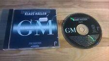 CD Schlager Tanz Orchester Klaus Hallen - GM George Michael (16 Song) HALLEN REC