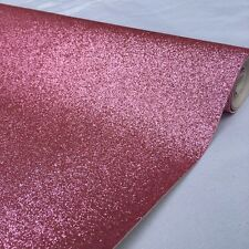 Sold By Metre A4 Fine Glitter Fabric Leather Canvas Craft Material 138cm Wide
