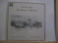 WINCHESTER CATHEDRAL CHOIR CAROLS ROM WINCHESTER MHS LP # 4809 MARTIN NEARY N/M