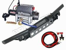 LAND ROVER DEFENDER TUBULAR WINCH BUMPER KIT DB1321R WITH BRITPART DB1200I WINCH