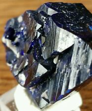 Flashing Azurite Crystal from Milpillas Mine Mexico #757