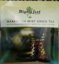 Mighty Leaf Marrakesh Mint Green Tea *50 Ct Whole Leaf Tea Pouches!