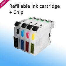 Upgrade ARC Refillable ink cartridge LC123 for Brother MFC-4410 4710 172 552 752