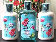 NEW Bath & Body Works CARRIED AWAY 2 Body Lotion and Shower Gel
