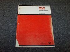 Case VVW1700 VVW3400 VVW5500 Vibromax Compactor Original Parts Catalog Manual