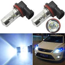 2x High Power LED Fog Light 60W H8 H11 White Samsung 2323 Driving Projector Bulb
