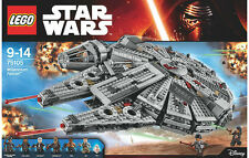 NEW SEALED DISNEY LEGO STAR WARS MILLENNIUM FALCON + 7 MINIFIGURES 75105 BOXSET