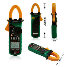 MASTECH MS2108S Professional 6600 Counts Digital AC DC Current Clamp Meter Backl