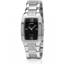 Casio MTP1165A-1C2 Men's Black Dial Stainless Steel Analog Dress Watch NEW