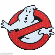 """Ghostbusters 4"""" No Ghost Movie Cartoon Kids Sew Embroidered Iron on Patch #1546"""