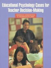 Educational Psychology Cases for Teacher Decision-Making