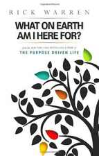 What on Earth Am I Here For Purpose Driven Life Booklet Book By Rick Warren New