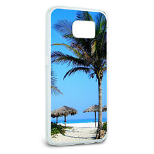 Tropical Beach Resort - Palm Tree Sand Protective Case for Samsung Galaxy S6