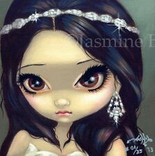 Faces of Faery 75 Jasmine Becket-Griffith art CANVAS PRINT bride wedding fairy