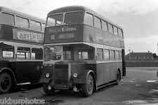 Hartlepool Borough Transport No.28 Depot Yard Bus Photo