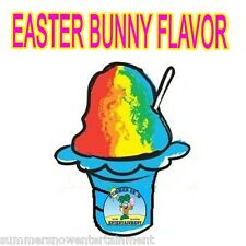 EASTER BUNNY SYRUP MIX SNOW CONE/ SHAVED ICE Flavor GALLON CONCENTRATE #1