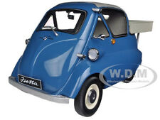 1955 BMW ISETTA 250 PICKUP BLUE 1/12 DIECAST CAR MODEL PREMIUM CLASSIXXS 10075