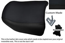 BLACK STITCH CUSTOM FITS BMW R 1150 GS REAR PILLION REAL LEATHER SEAT COVER
