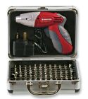 102pc Rechargeable 4.8v 150RPM Cordless Screwdriver Set with LED Light. DTIV