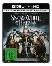 SNOW WHITE & THE HUNTSMAN 4K 2 ULTRA HD BLU-RAY NEU K.STEWART/C.HEMSWORTH/+