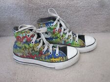 Converse All Star Chuck Taylor 50s Sci Fi Horror Flick Shoes Kids Size 13 EUC