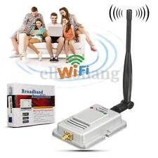 2.4G 2W Wifi Wireless Broadband Amplifier Router LAN Power Range Signal Booster