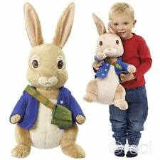 "New Peter Rabbit & Friends 17"" Jumbo Peter Rabbit Plush Soft Toy Official"