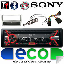 Vauxhall Corsa C Sony Car Stereo Radio CD MP3 USB Bluetooth Steering Control S