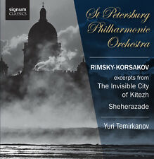 Yuri Temirkanov - Excerpts from the Invisible City of Kitezh [New CD]