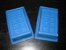 DOCTOR WHO TARDIS  ICE TRAY BIRTHDAY MINI CAKE PAN CANDY CHOCOLATE MOLD SET 2