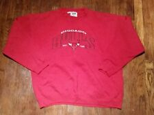 Chicago Bulls Lee Sports XL Crewneck