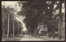 Postcard FREDRICTON New Brunswick/CANADA  Church Street Houses/Homes view 1904?
