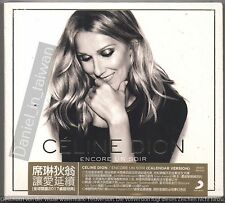 Celine Dion: Encore un soir - Calendar Version (2016) CD STICKER TAIWAN