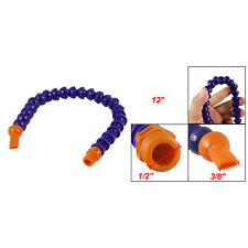 SODIAL(R)Nozzle oel Wasser Flexible Kuehlmittelrohr Flachduese - Orange  GY
