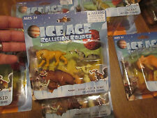 ICE AGE COLLISION COURSE COLLECTIBLE FIGURES MANNY,DIEGO,SID & SCRAT RARE NEW