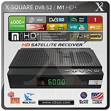X2 HD DVB-S2 (FTA) with IPTV Mini Hybrid Satellite Receiver - New Edition