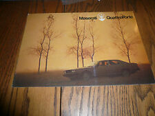 Maserati Quattro Porte Sales Brochure - German Text
