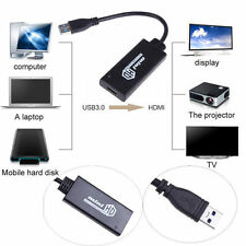 USB 3.0 to HDMI HD 1080P Video Cable Adapter Converter For PC Laptop HDTV TV WP