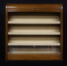Gucci of Italy 4 Shelf 'Display' Lacquer Cabinet