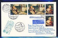 55985) LH FF München - Marseille France 6.1.97, Brief ab San Marino