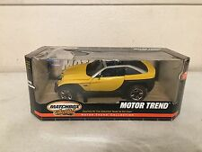 MATCHBOX COLLECTIBLES: Motor Trend: Jeep Jeepster Die-Cast Concept Vehicle (NIB)