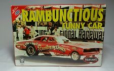 FACTORY SEALED Polar Lights Gene Snow's 1970 Rambunctious Dodge Charger Funny